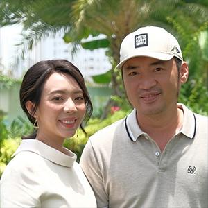 Vợ chồng Tiến Luật & Thu Trang: